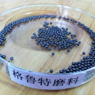 钢丸S390用于铸件除锈图片