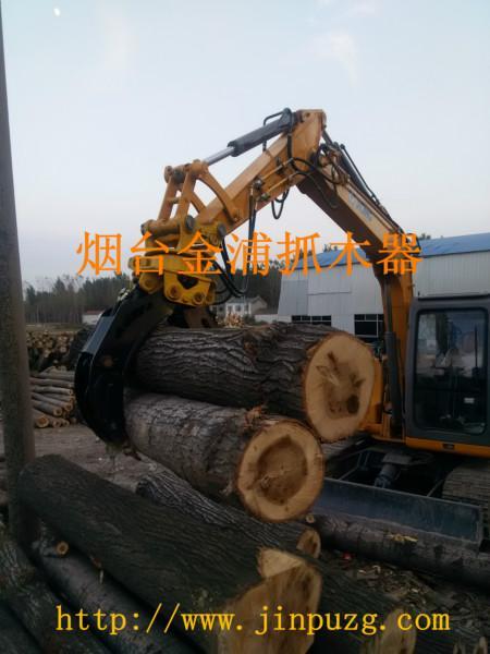 供应液压抓木器生产厂家,山东液压夹木机,液压旋转抓木器,烟台抓木器
