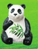 供应纽曼赛尔动物卡通草坪音箱松鼠/熊猫/企鹅草坪音箱室外音箱批发