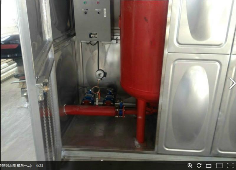 屋顶箱泵一体化W-6-18-30-I-HDXBF消防增压稳压给水设备厂家