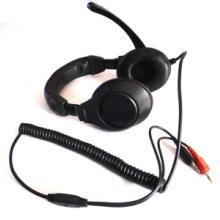 厂家直供语音室教学头戴式耳机 电脑耳机 弹弓线
