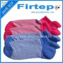 供应【女袜】女士条纹糖果多色袜子批发 隐形棉袜糖果色