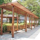 供应青岛黄柳桉红柳桉凉亭廊架