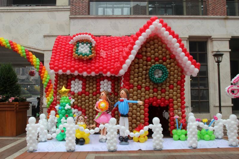 供应圣诞节气球装饰/节日气球装饰造型/成都气球装饰公司