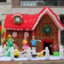 圣诞节气球装饰/节日气球装饰造型图片