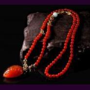 供应水晶坊珠宝首饰红玛瑙多用链