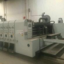 供应用于纸箱的二手纸箱设备双色印刷开槽机88批发