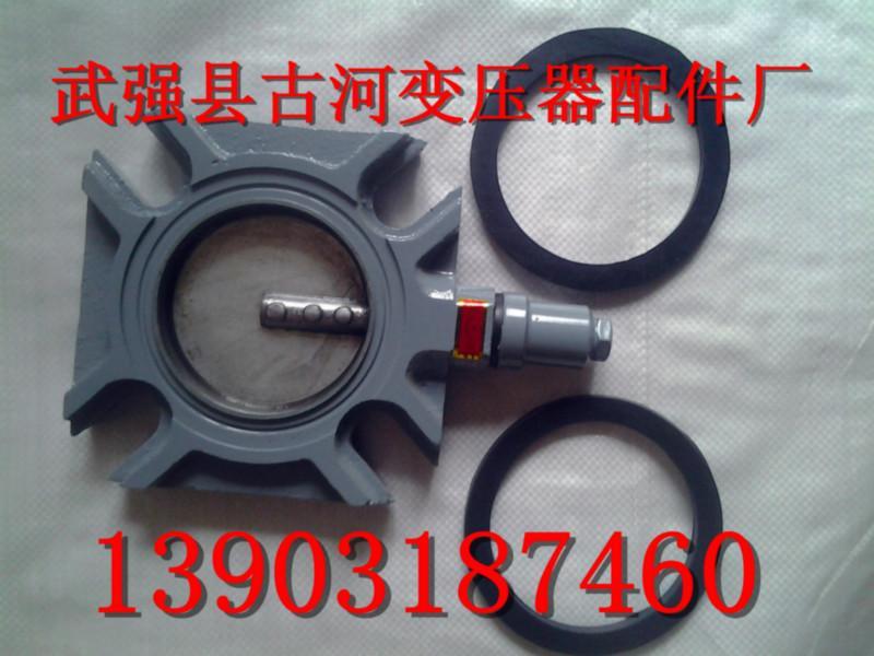 供应变压器Φ125钢板蝶阀