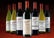 澳大利亚奔富葡萄酒图片