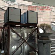 浙江10-15吨空气能热水工程图片