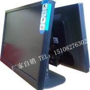 银行柜台桌面式双面显示器19英寸图片