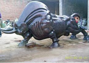 铜牛铸造厂家图片