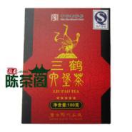 黑茶三鹤六堡茶特级100g五星彩盒图片
