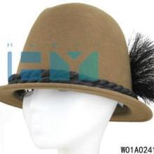 供应秋冬季出游时装帽女士毡帽