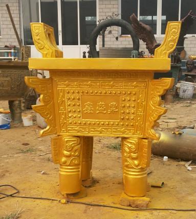 供应河北铜香炉价格_河北香炉铸造厂家