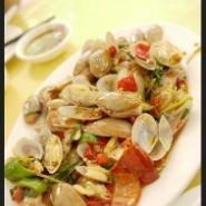 辣酒煮花螺怎么做阿浪海鲜加工图片