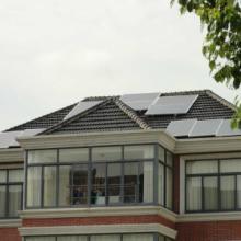 供应杭州宾馆5KW民用太阳能发电机组