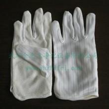 供应点塑手套 厂家直销高品质,防静电防滑手套,防静电条纹手套
