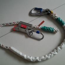 供应定位绳高空作业定点定位固定,可调式定位绳,固定式定位绳