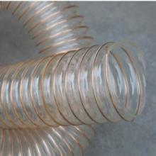 供应PU塑筋螺旋增强软管  伸缩软管批发