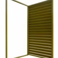 太原市锌钢百叶窗,组装空调护栏