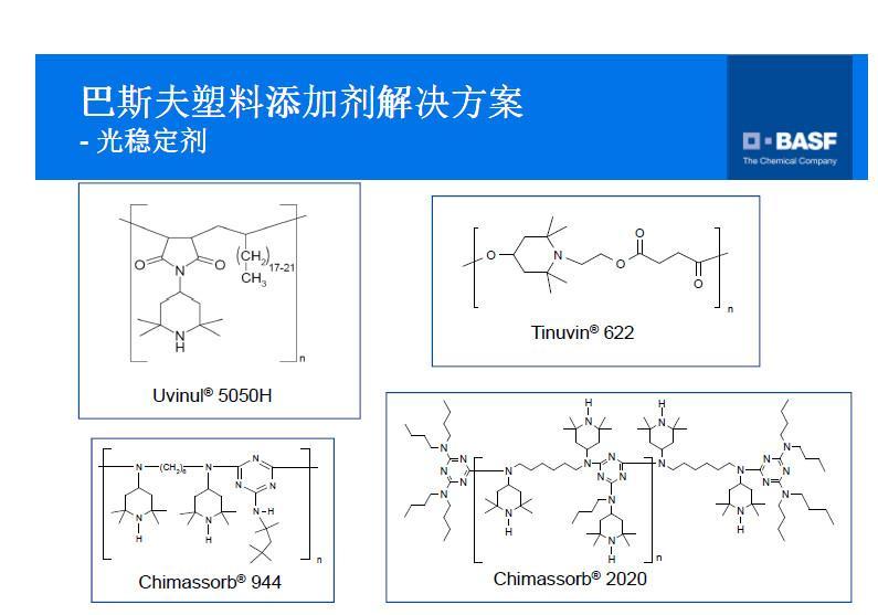 供应UV受阻胺光稳定剂