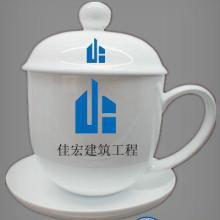 供应纯手工手绘粉彩花鸟陶瓷茶杯景德镇高档办公杯价格批发