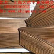 海南表面炭化木图片