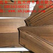 江西表面炭化木图片