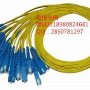 单模单芯光纤跳线FC单模双芯光纤跳图片