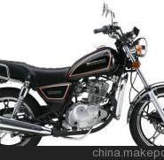 豪爵铃木125摩托车图片