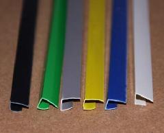 供应批发塑料小边条,kt板包边条,广告边条。包装:一捆100条,一包600条