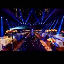 北京公司晚会年会舞台搭建场地布置专业专注 北京公司晚会年会舞台搭建光束灯租