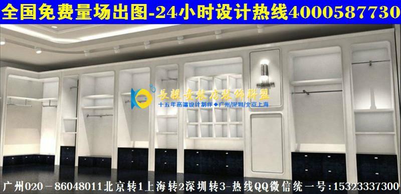 童装童鞋店装修效果图展示货柜AN22小童装店橱窗货架风格CN35