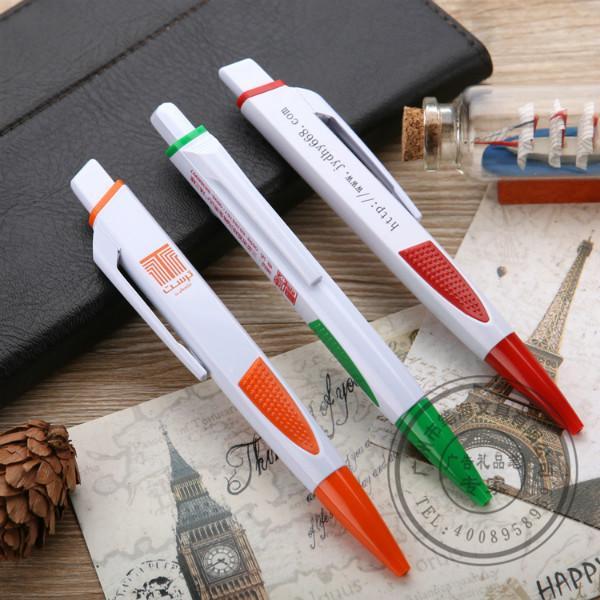供应南昌塑料圆珠笔塑料广告笔订制厂