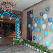 成都气球装饰布置/气球百日宴装饰图片