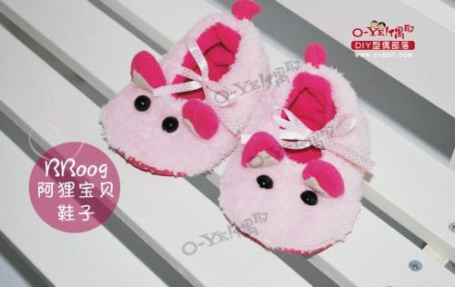 供应diy婴儿鞋、哪里可以买到diy婴儿鞋、福州偶耶diy婴儿鞋批发