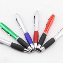 供应学生学习塑料按动圆珠笔可定做可定制logo、颜色等批发