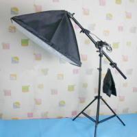 供应5070摄影柔光箱补光灯具供应摄影补光灯单灯头柔光箱顶架灯摄影器材价格