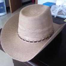 供应男式针织夏帽大牛仔男帽翘沿八字带批发