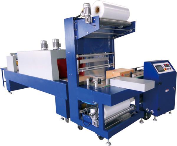 供应纸箱等规则物体外封热缩膜包装WD-150B型L5050W3300H2100