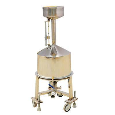 供应不锈钢20L标准金属量器量油专用