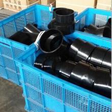 供应高密度聚乙烯HDPE管、虹吸雨水管、PE排水管件、PE斜三通、悬吊管卡、立管卡、方钢连接片图片