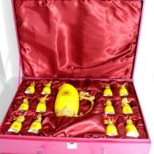 供应十二生肖陶瓷酒杯套装生肖酒具