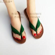 供应女士棕丝鞋批发加盟 厂家直销女士人字拖 旅游区鞋子批发 麻鞋