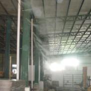 承接东莞电子厂房喷雾降温工程图片