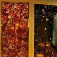 星级酒店背景墙面建材玛瑙装饰板图片