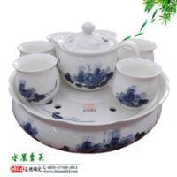 供应景德镇青花瓷茶具 手绘礼品陶瓷茶具