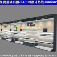 鞋包专卖店装修效果图展示货柜AN20图片