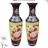 供应景德镇陶瓷大花瓶 落地陶瓷大花瓶
